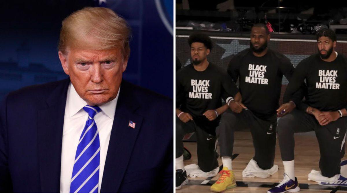 """Donald Trump: """"Cuando veo gente arrodillada en la NBA, desconecto del partido"""""""