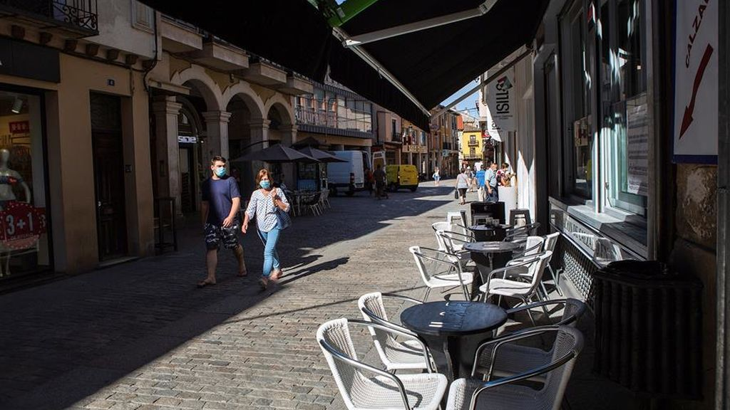 Un juez autoriza aislar Aranda de Duero (Burgos) por alta incidencia de covid