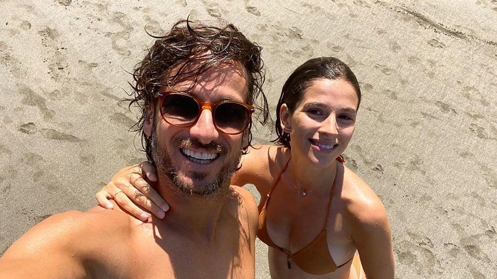 Feliciano López y Sandra Gago