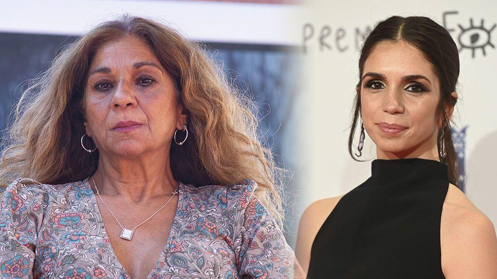 """Lolita Flores se entera por la prensa de la boda de su hija, Elena Furiase: """"Me dais un sorpresón"""""""