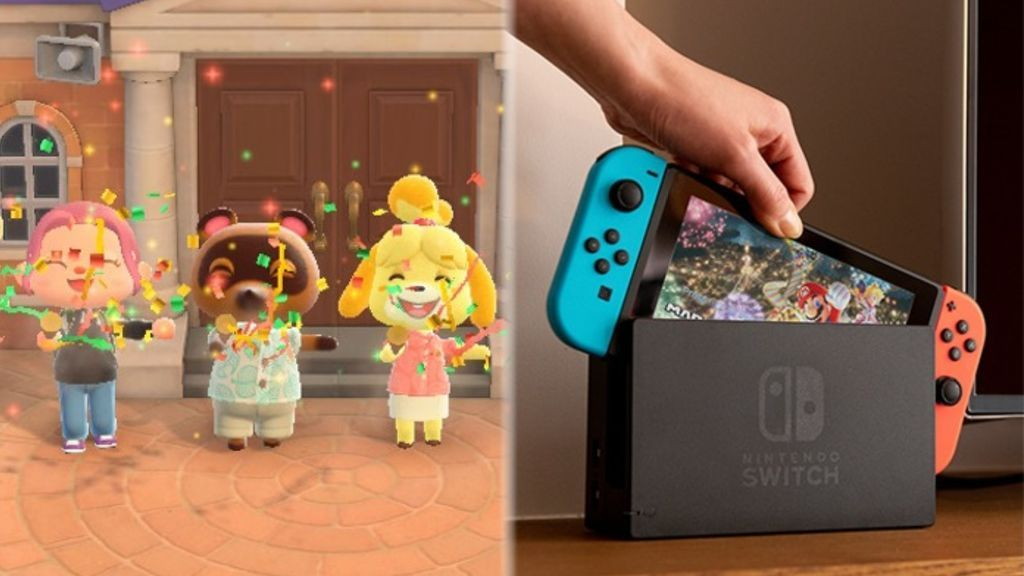 Animal Crossing: New Horizons y Nintendo Switch