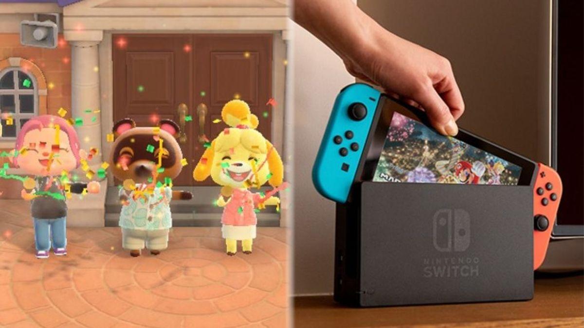 Animal Crossing: New Horizons y Nintendo Switch