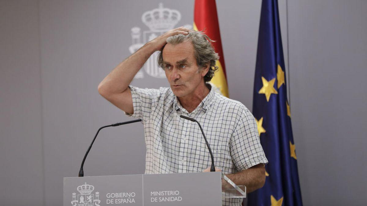"""Simón, sobre las cifras de Covid que Madrid da a Sanidad: """"Pueden ser un poco contradictorias"""""""