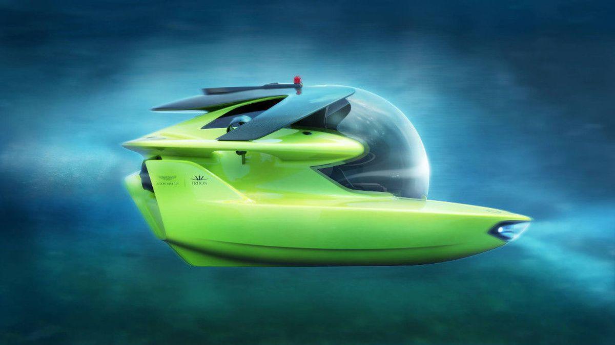 Aston Martin Neptuno, el submarino de uso personal