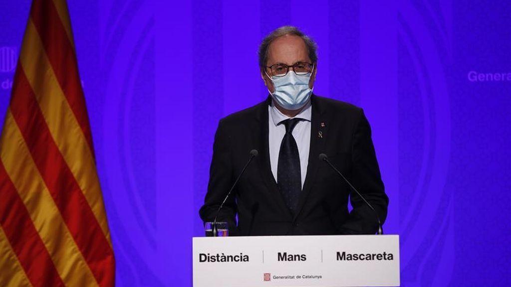"""Quim Torra, sobre Madrid: """"Deseo de todo corazón fuerza y ánimos a todos los madrileños"""""""