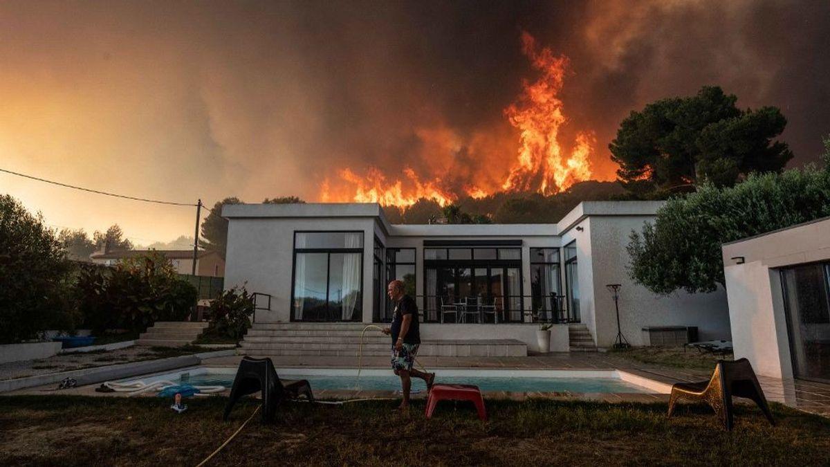 Imágenes incendio Marsella