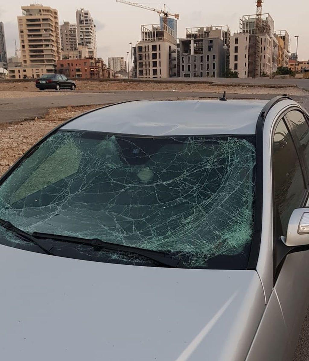 El coche de José a 3 km del núcleo de la explosión.