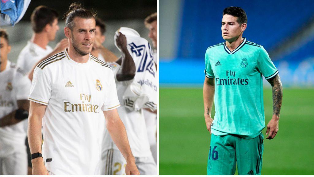 Zidane sentencia a James y Bale: el técnico francés mete prisa para darles salida