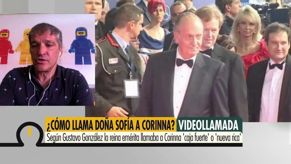 """Gustavo González: """"La Reina Sofía se despidió diciendo al Rey '¿A quién te vas a llevar?' y aludió a dos amigas entrañables"""""""