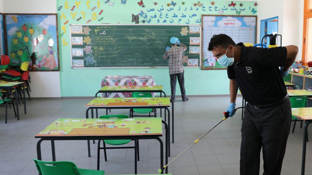 La OMS advierte que reabrir escuelas con alto nivel de contagios es arriesgado