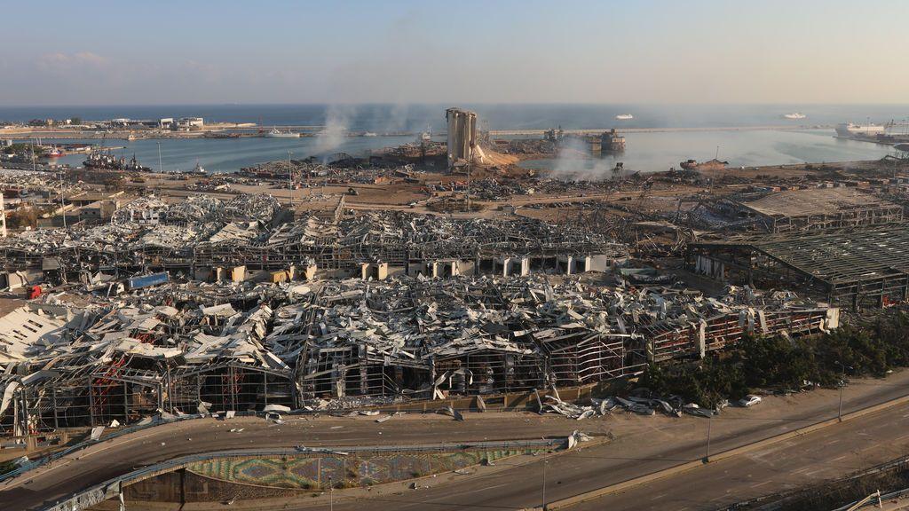 'Fake news': el vídeo manipulado que muestra un misil en la explosión de Beirut