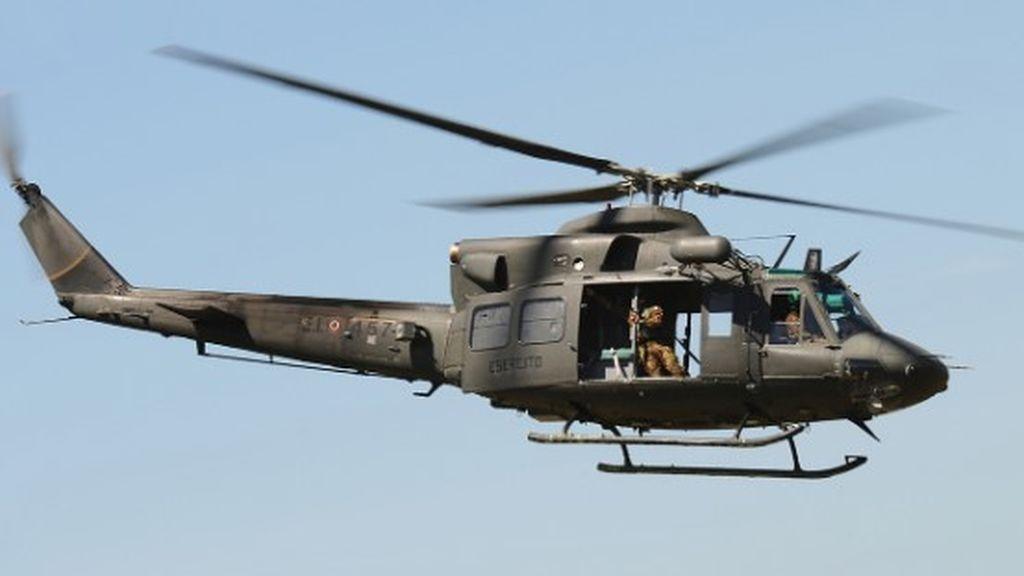Roban un helicóptero Bell- 412 usado para extinguir incendios forestales en Cuenca
