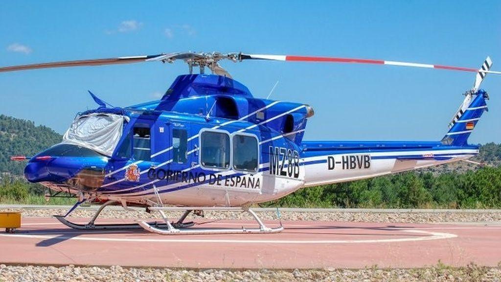 Localizan en buen estado el helicóptero de la BRIF que había sido robado en Cuenca