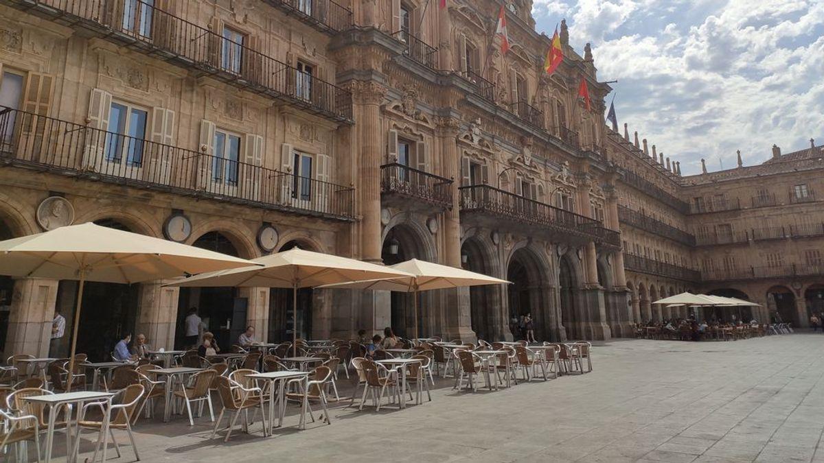 Declarado un brote en Salamanca, con cinco positivos, en un grupo que regresó el día 3 de Malta