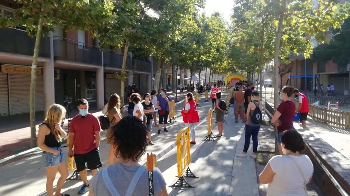 Terrassa (Barcelona) comienzo el cribado e su población para detectar nuevos casos de coronavirus