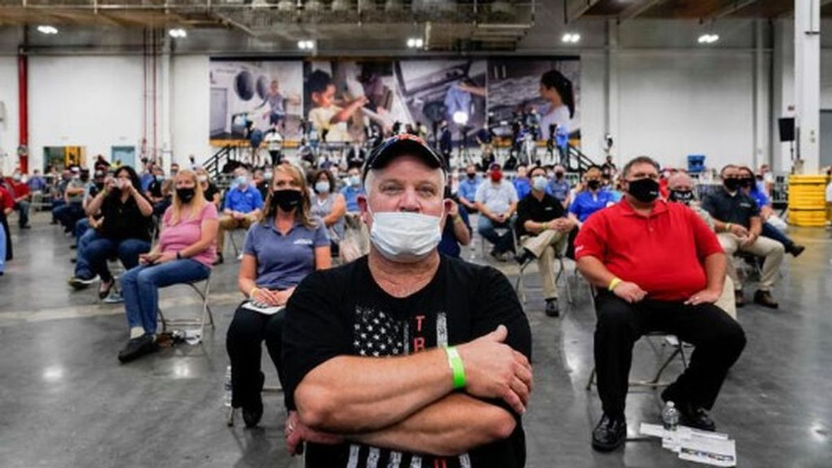 EEUU supera las 160.000 muertes por coronavirus