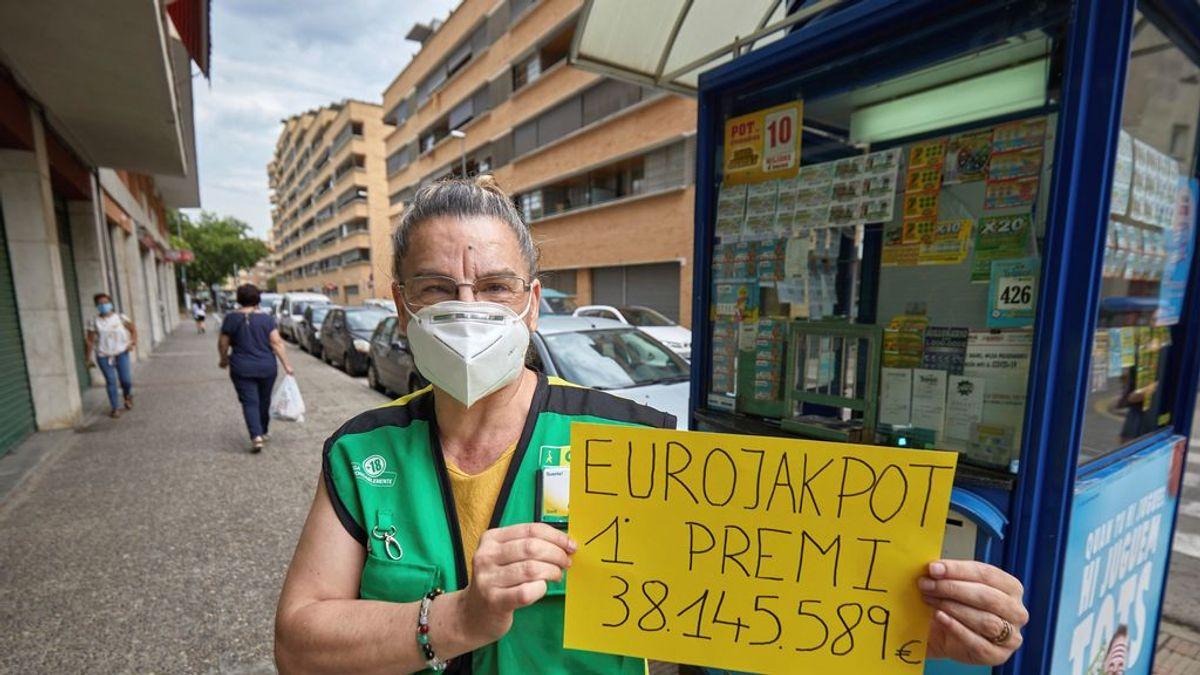 Una persona gana un premio de 38 millones de euros en Girona: es el mayor de la historia de la ONCE en Cataluña