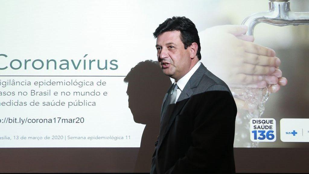 El exministro de Sanidad de Brasil, Luiz Henrique Mandetta