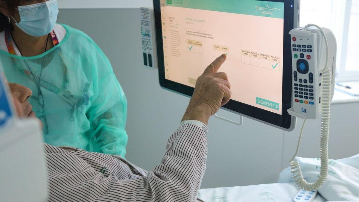 Andalucía llega a los 105 hospitalizados por coronavirus, 16 de ellos en UCI
