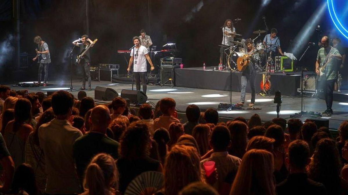 Críticas en redes sociales por la falta de medidas de seguridad en un concierto de Taburete