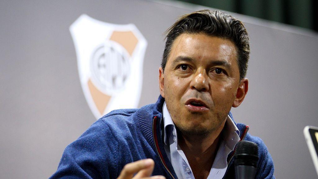 El entrenador de River Plate, Marcelo Gallardo