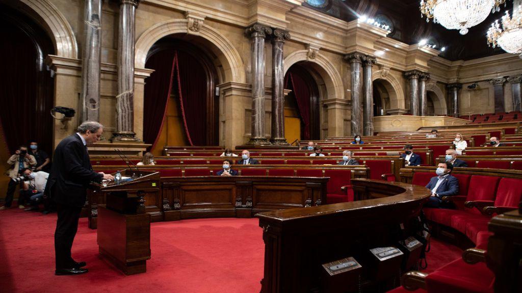 Torra insta a los letrados a publicar las resoluciones sobre una Cataluña republicana pese a las advertencias de inconstitucionalidad