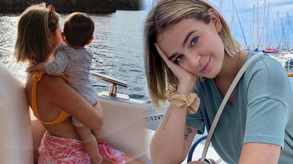 """Laura Escanes confiesa el motivo por el que no muestra la cara de su hija Roma: """"No la escondemos"""""""