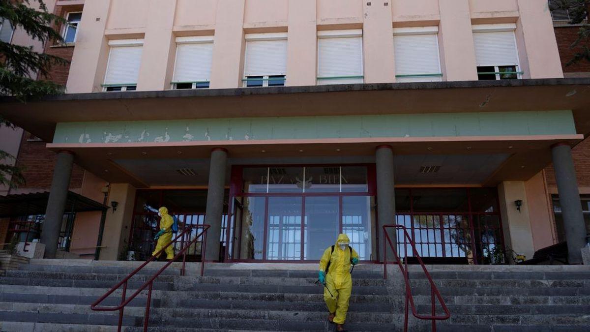 Fallecen otros dos ancianos de la residencia de Burbáguena afectada por un brote de coronavirus