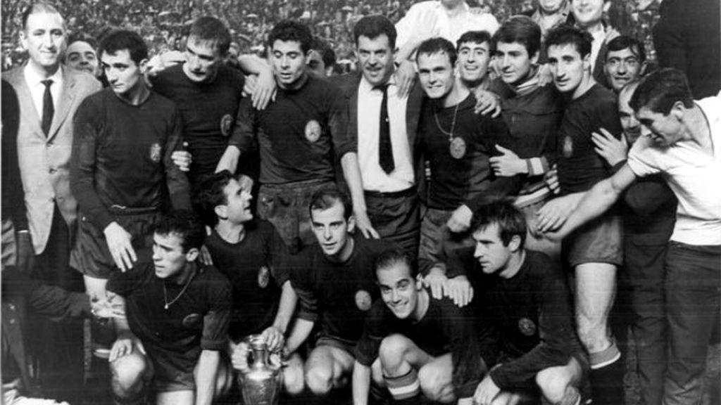 selección española de futbol ganadora de la eurocopa 1964