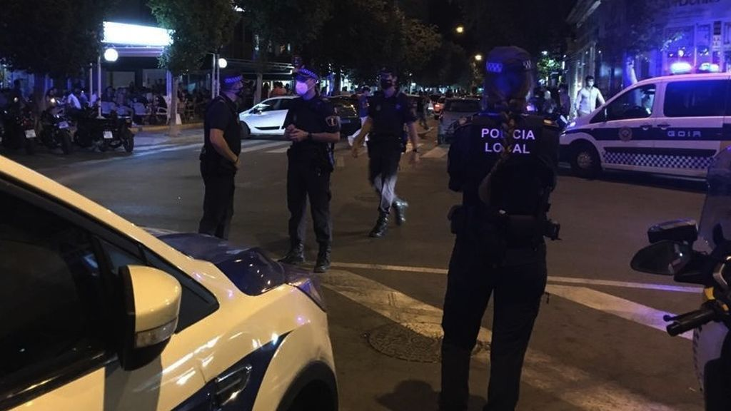 Desalojan a 66 personas de una discoteca de Alicante con la pista de baile habilitada