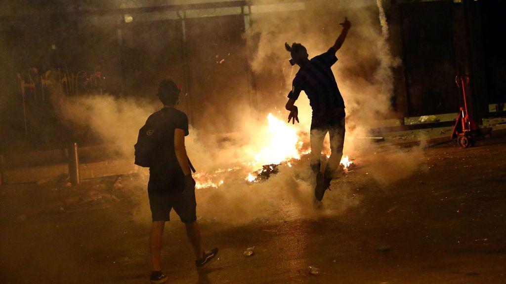 Una escaramuza con el yerno del presidente libanés desata nuevos disturbios en Beirut
