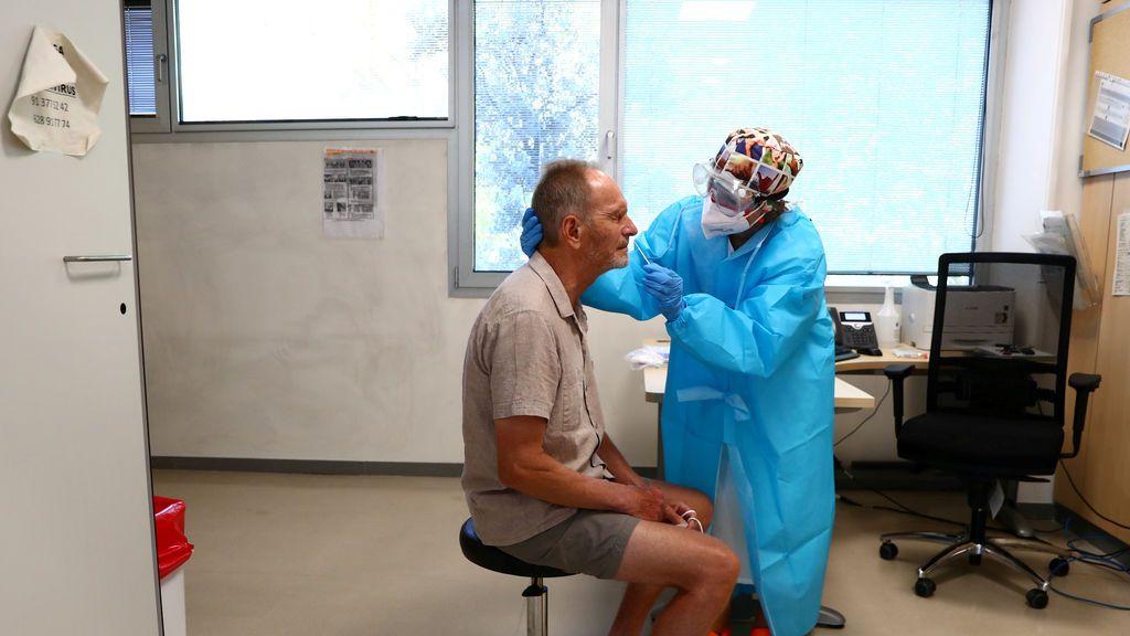 Sanitaria realiza prueba PCR