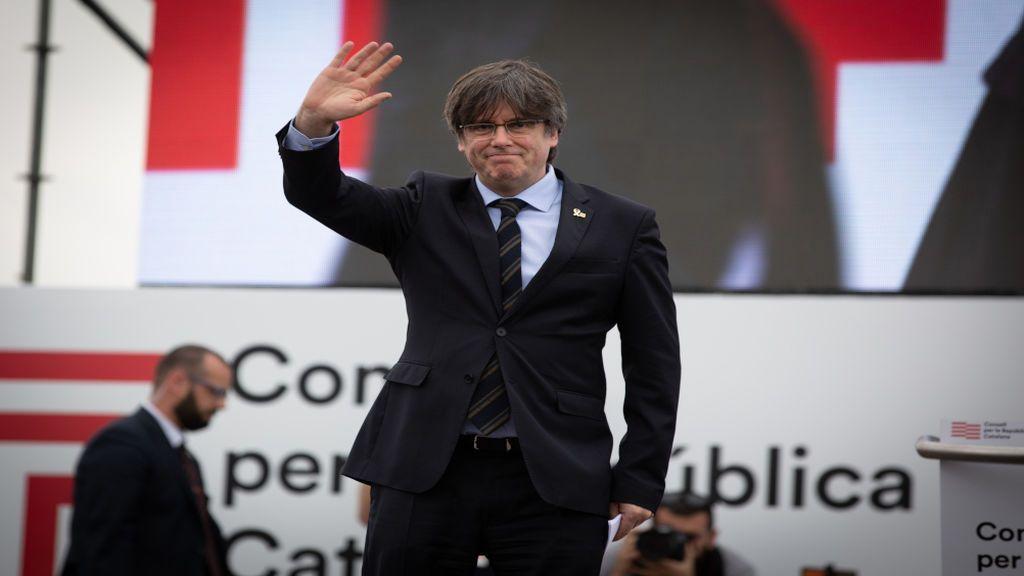 Puigdemont, reelegido presidente de JxCat con el 99,3% de los votos