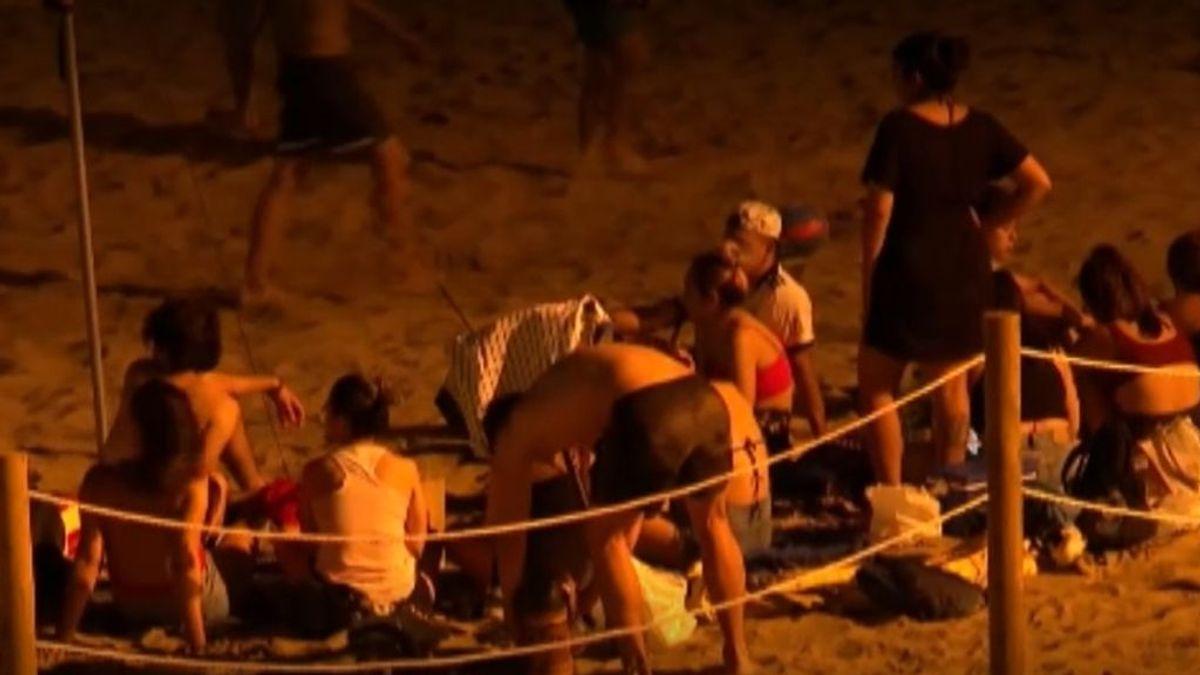 Más de 200 multas por botellón en cuatro días en las playas catalanas de Palafrugell