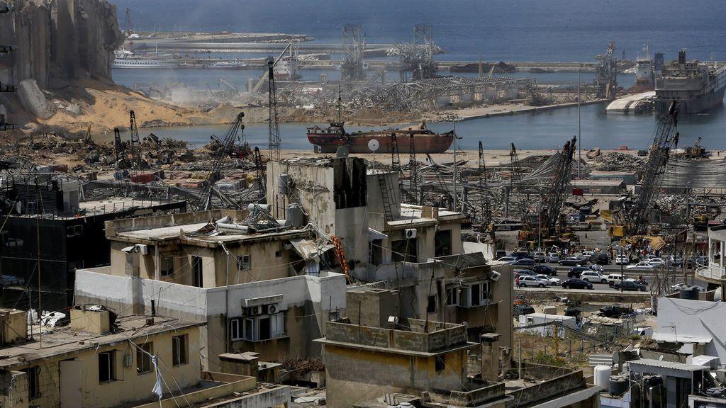 La comunidad internacional recauda en torno a 200 millones de euros para la reconstrucción de Beirut