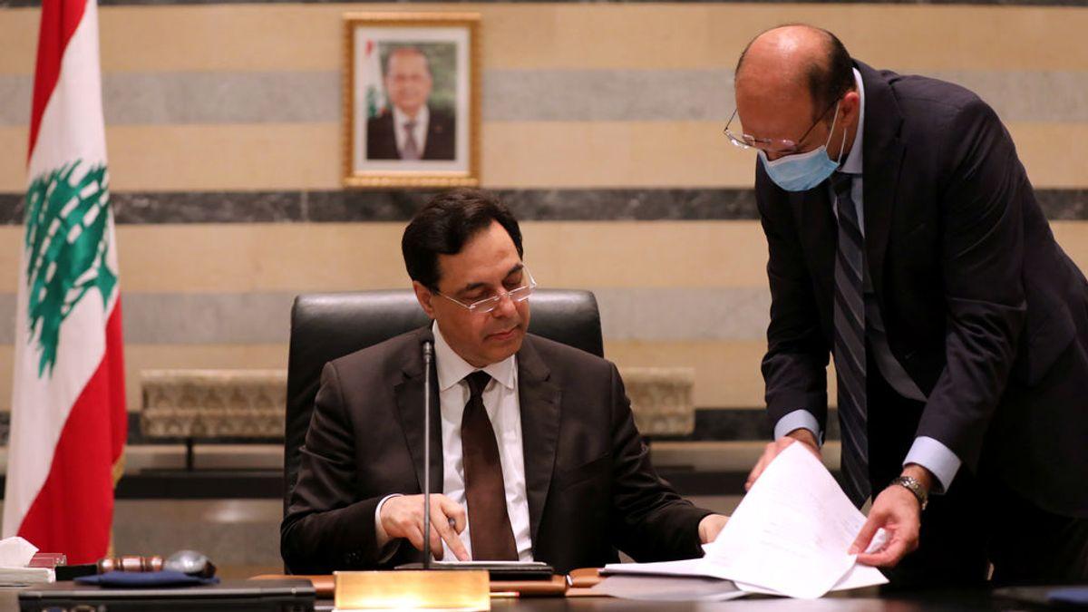 Dimite al completo el Gobierno del Líbano tras las explosiones en el puerto de Beirut