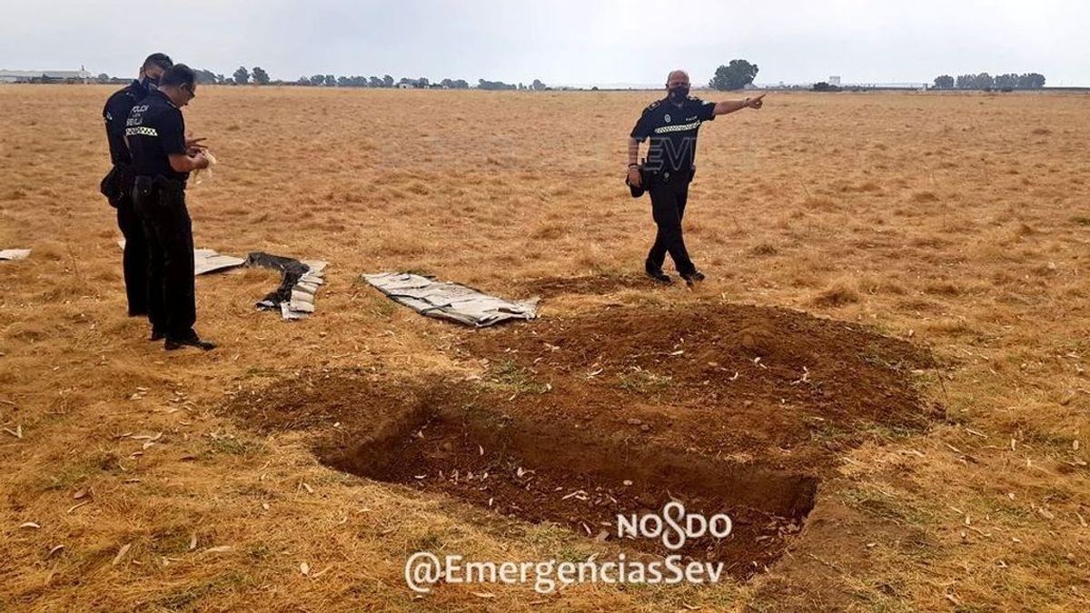 El atrezzo de un videoclip sobre un entierro hace saltar las alarmas en la Policía de Sevilla