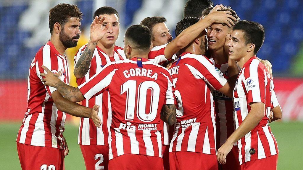 El resto de la plantilla del Atlético de Madrid da negativo: Correa y Vrsaljko se pierden la Champions