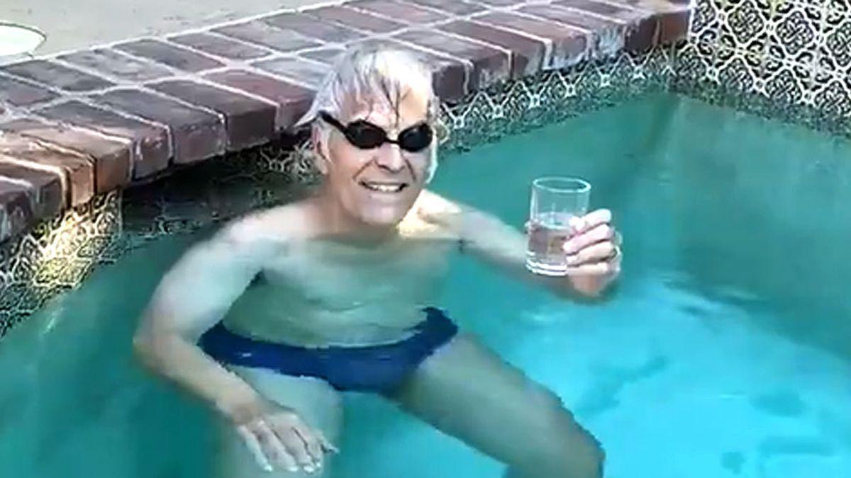 El reto del nadador Mark Spitz  a sus 70 años que muchos no podrán cumplir ni con la mitad de edad