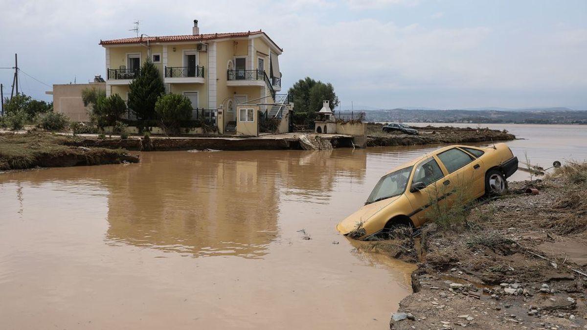 Inundaciones en Grecia: las fuertes lluvias matan a siete personas, entre ellas un bebé