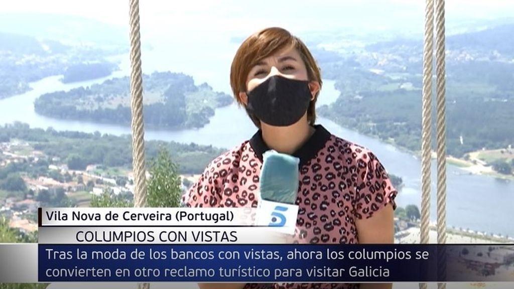 Columpios con vistas espectaculares en la Ribeira Sacra: la foto más buscada en Galicia este verano