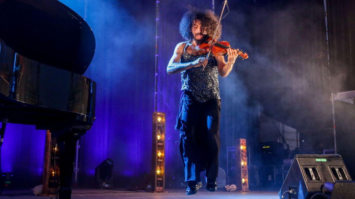 El violinista Ara Malikian durante la primera edición de Jazz Palacio Real.