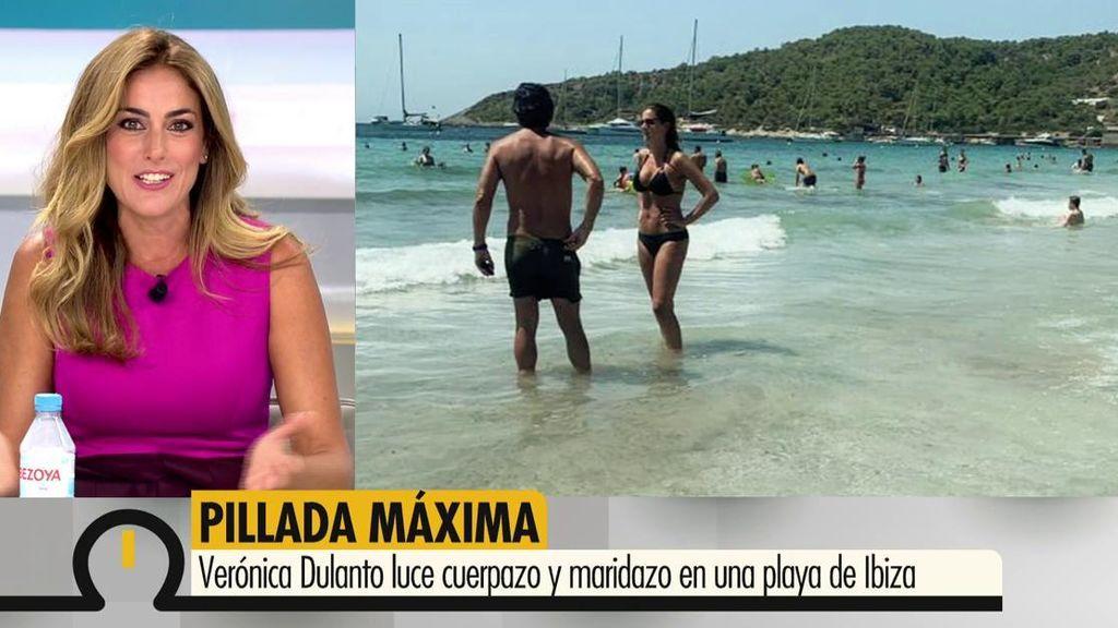 """Verónica Dulanto, pillada en la playa: """"¡¿De dónde habéis sacado estas fotos?!"""""""