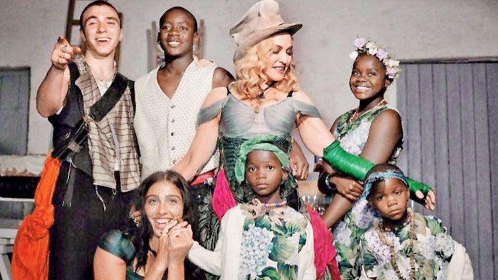 Así son los seis hijos de Madonna