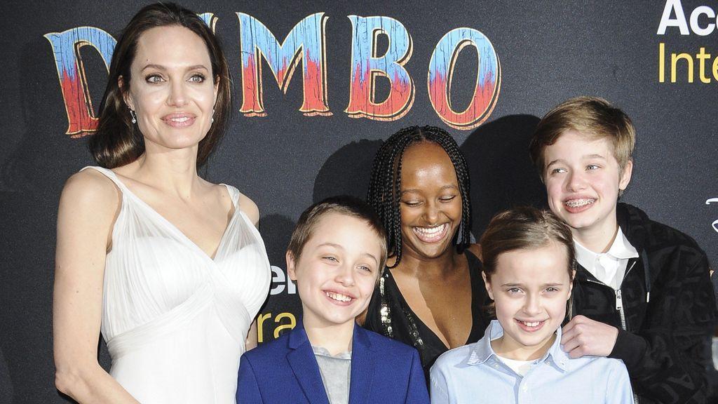 Angelina Jolie es madre de seis hijos.