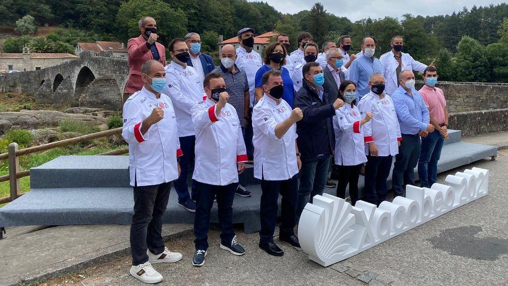 Berasategui, Arzak, Jordi Cruz y otras Estrellas Michelin se unen para promocionar el Camino de Santiago
