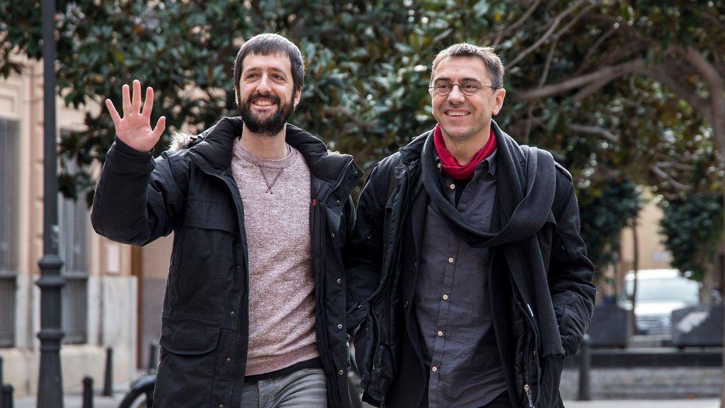 El juez que investiga las cuentas de Podemos imputa al hombre de confianza de Iglesias