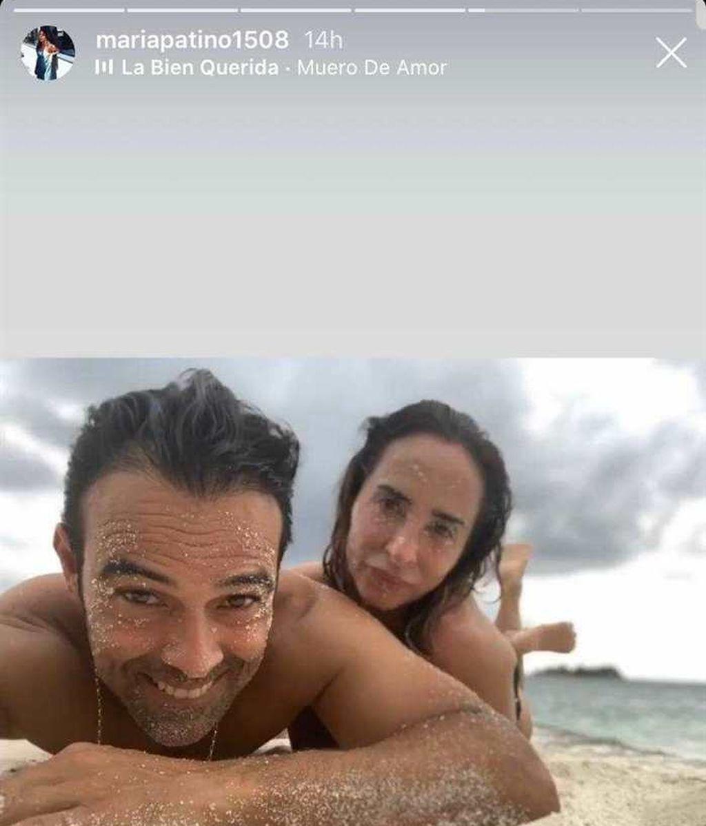 María Patiño y su marido