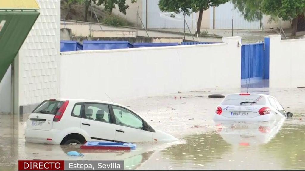 Alerta por tormentas en media España: las riadas causan innumerables destrozos materiales