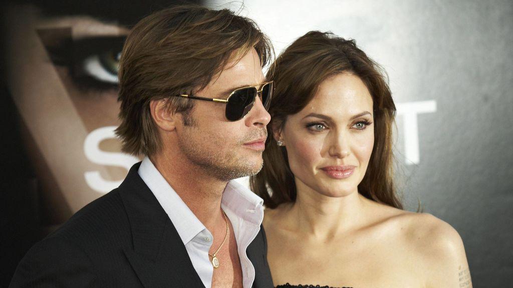 Angelina y Brad durante su relación